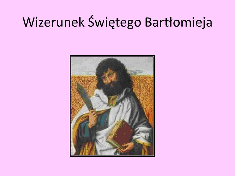 Wizerunek Świętego Bartłomieja
