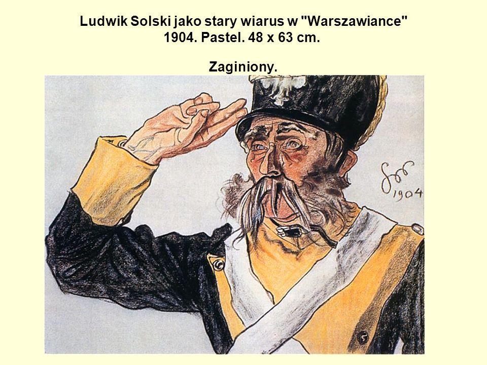 Ludwik Solski jako stary wiarus w