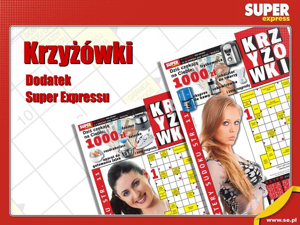 Krzyżówki Dodatek Super Expressu Dodatek Super Expressu