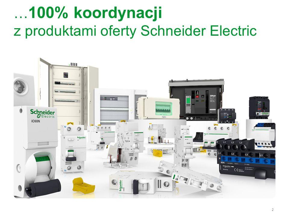 3 Acti 9 w pigułce Efektywność energetyczna na którą zasługujesz Dostępne tylko w Schneider Electric