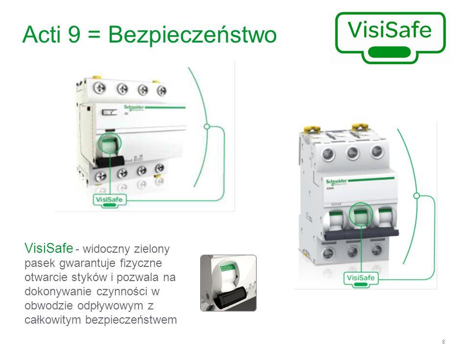 9 Acti 9 w pigułce Efektywność energetyczna na którą zasługujesz Dostępne tylko w Schneider Electric