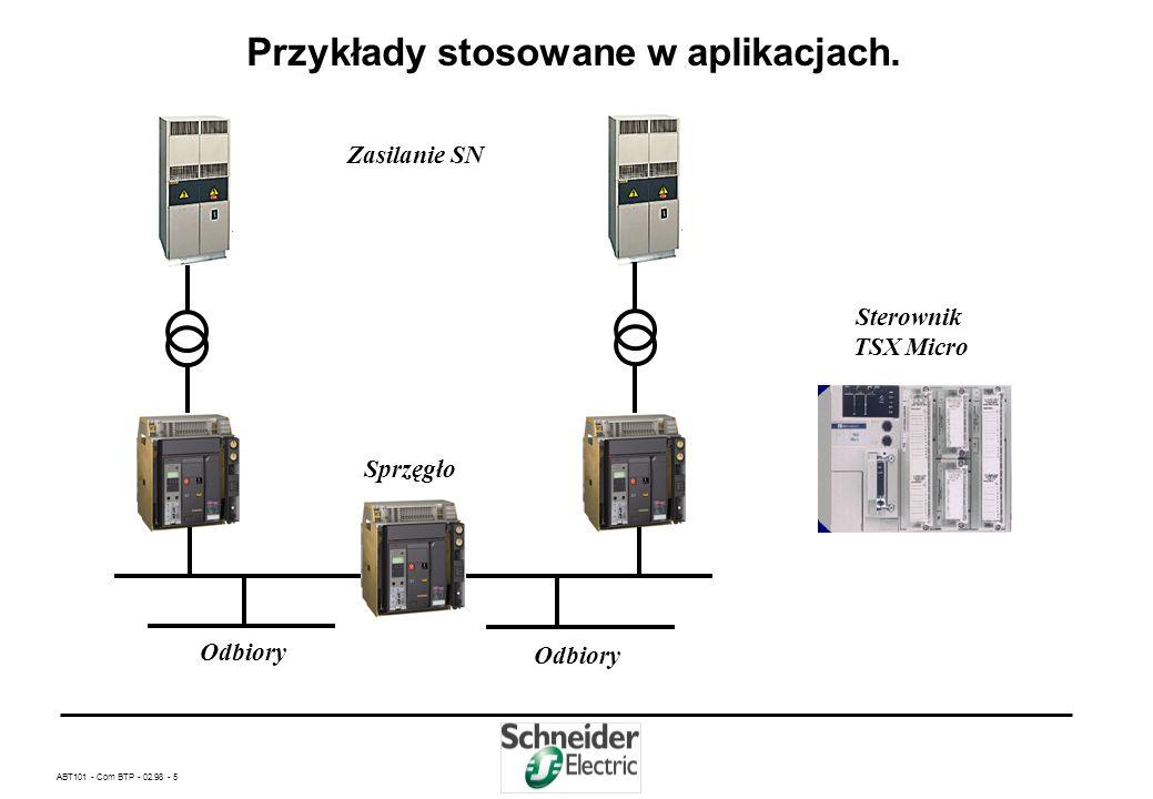 ABT101 - Com BTP - 02.98 - 25 Dane techniczne układów automatyki APZ produkcji Schneider Electric Polska cd.