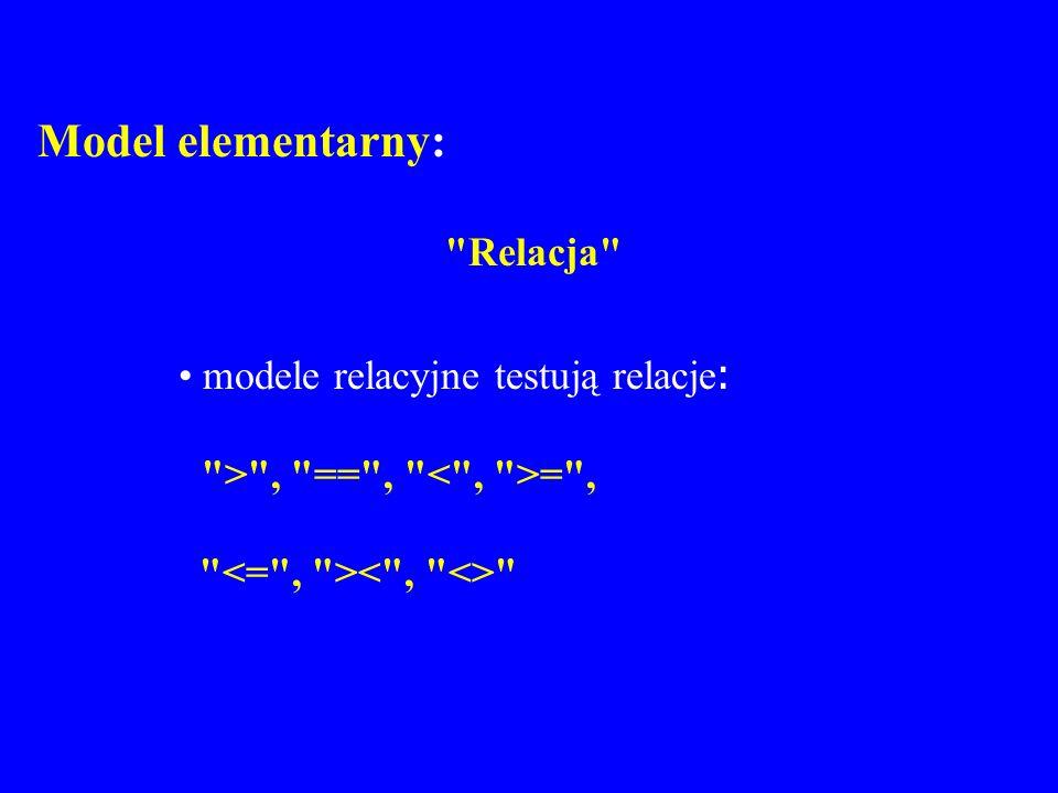 Model elementarny: