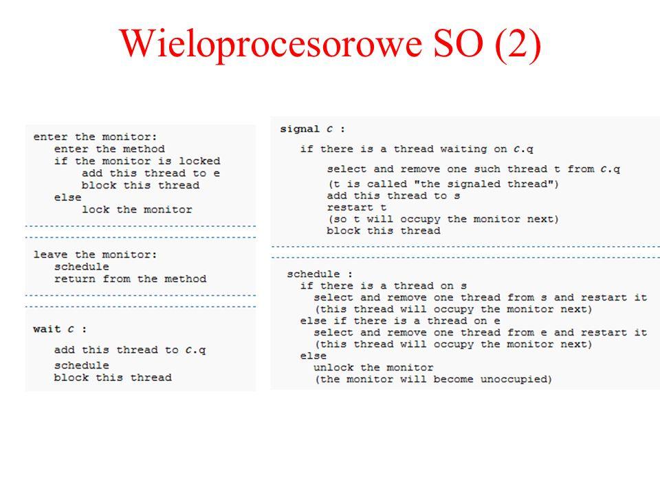 Wieloprocesorowe SO (2)