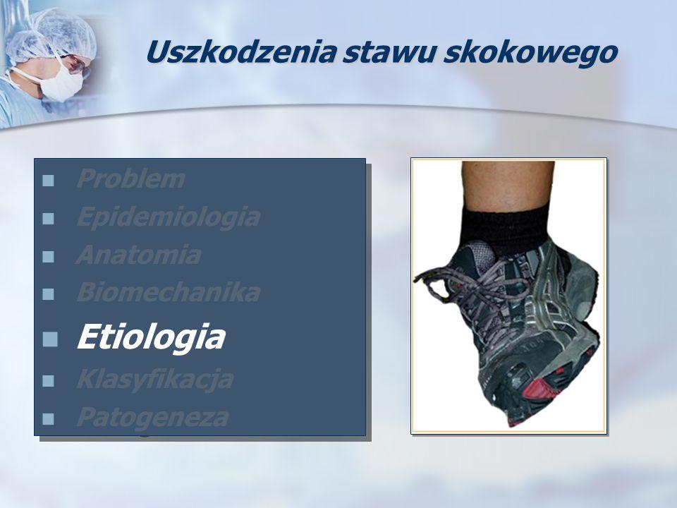 Problem Epidemiologia Anatomia Biomechanika Etiologia Klasyfikacja Patogeneza Problem Epidemiologia Anatomia Biomechanika Etiologia Klasyfikacja Patog