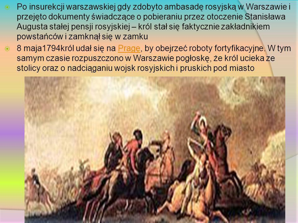 Po insurekcji warszawskiej gdy zdobyto ambasadę rosyjską w Warszawie i przejęto dokumenty świadczące o pobieraniu przez otoczenie Stanisława Augusta s