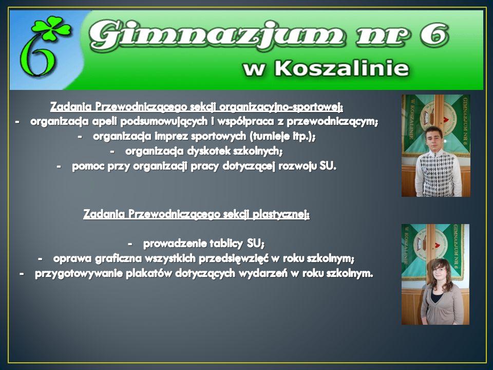 Samorząd Uczniowski współpracuje z wieloma koszalińskimi instytucjami.