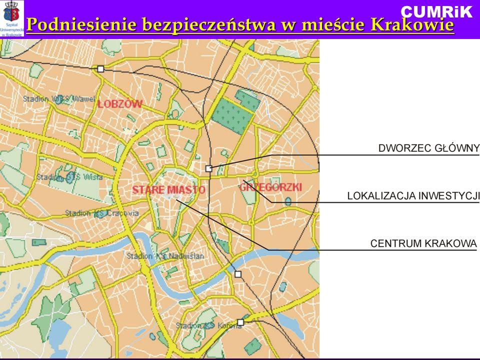 CUMRiK Podniesienie bezpieczeństwa w mieście Krakowie