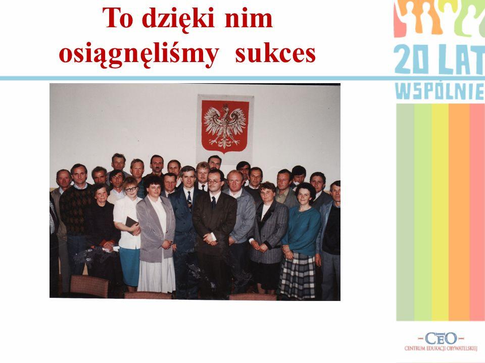 A tak to się zaczęło… Mieszkańcy gminy podjęli szereg inicjatyw gospodarczych w swoich sołectwach przy udziale radnych i sołtysów.