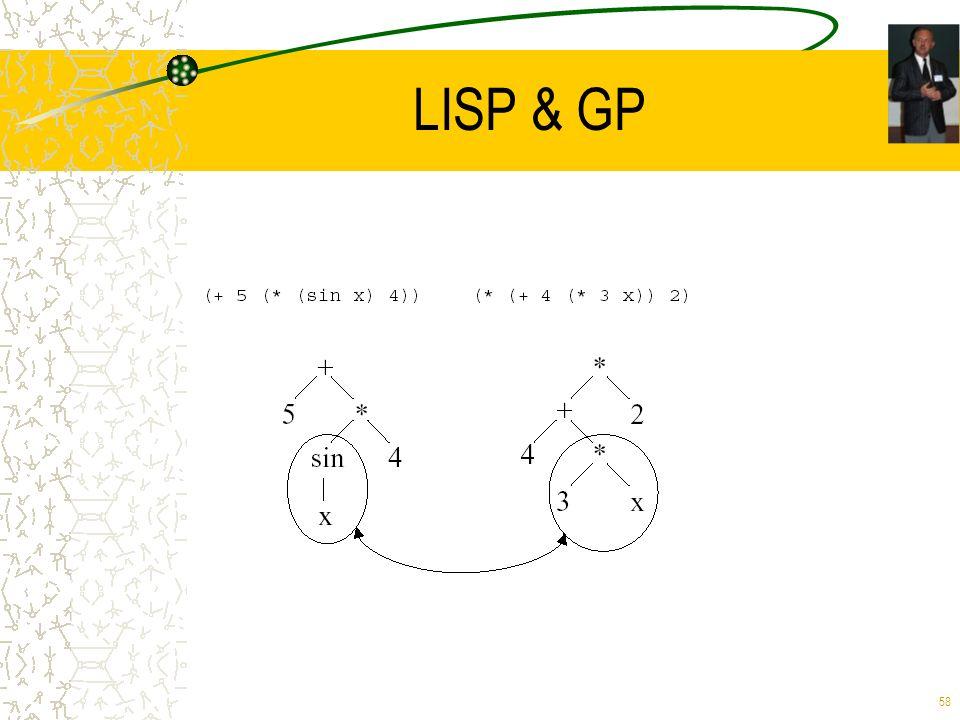 58 LISP & GP