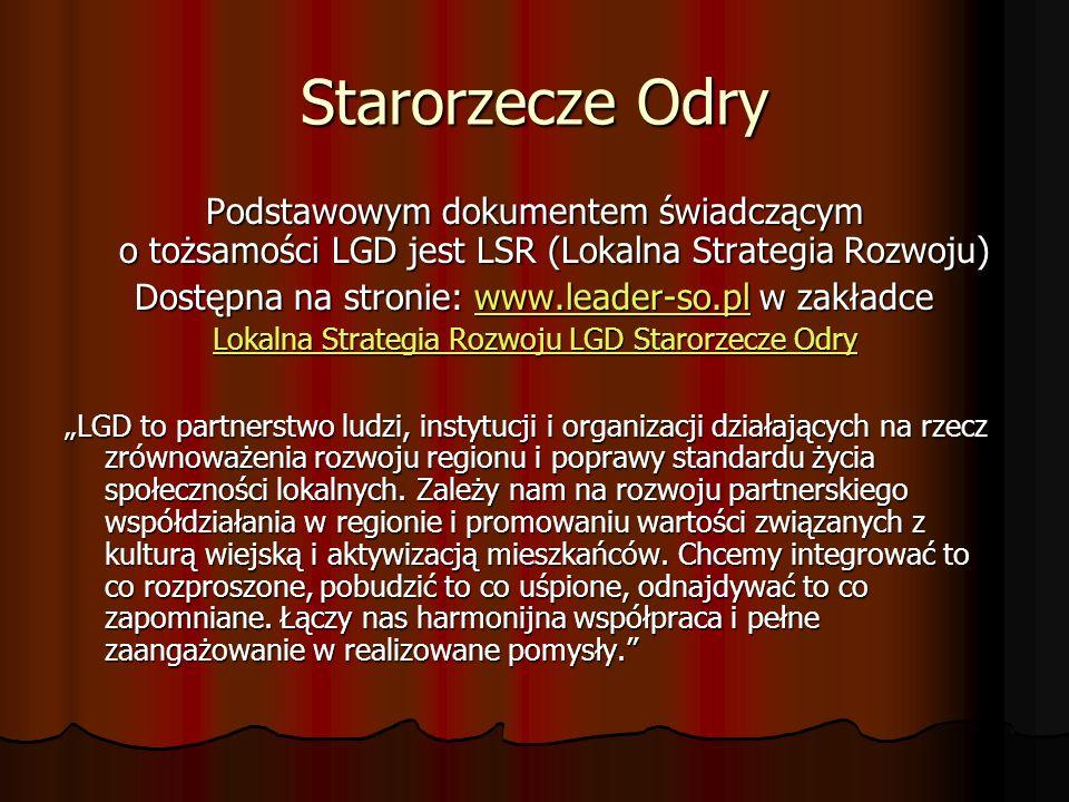 Harmonogram przewidywanych terminów składania wniosków o przyznanie pomocy w ramach działania 4.1/413 Wdrażanie Lokalnej Strategii Rozwoju 200920102011201220132014 Małe Projekty IV kwartał III kwartał II kwartał