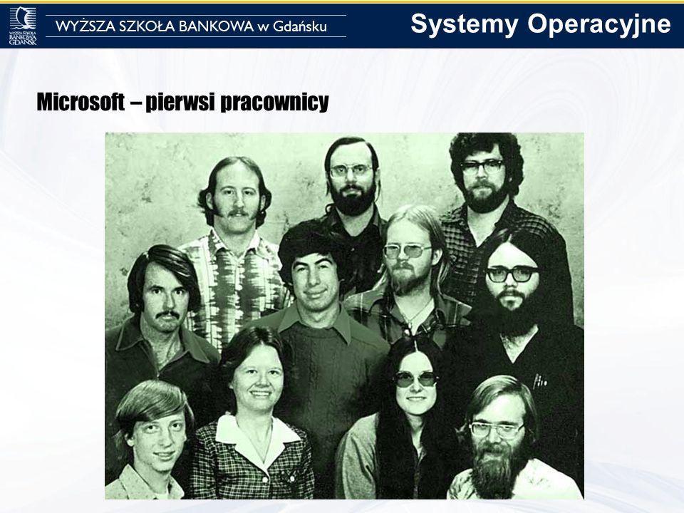Microsoft – pierwsi pracownicy Systemy Operacyjne