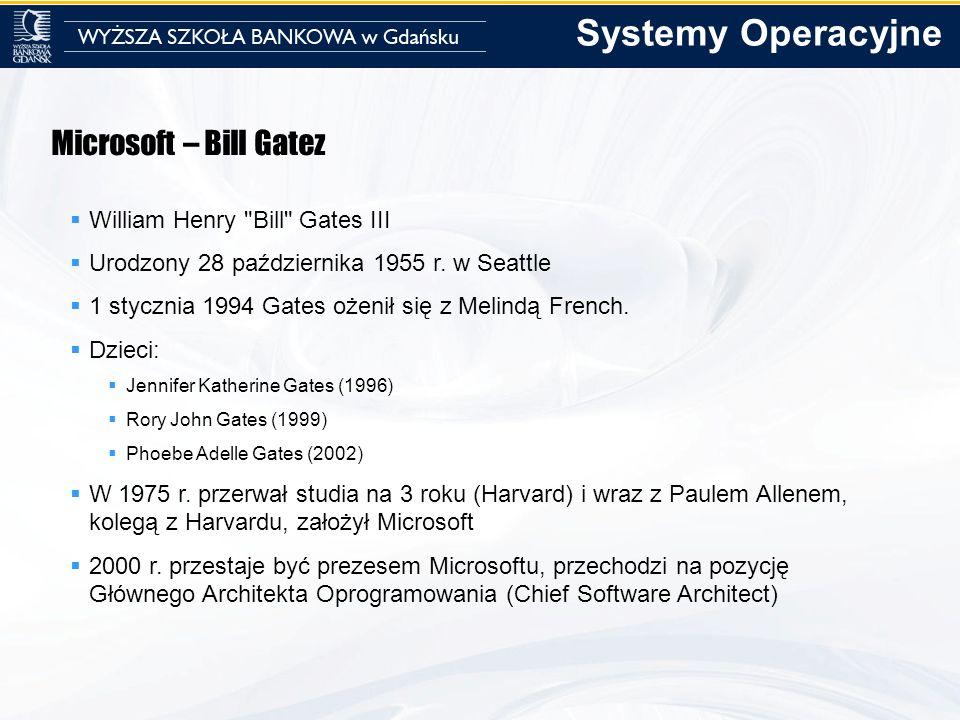 Microsoft – Bill Gatez William Henry