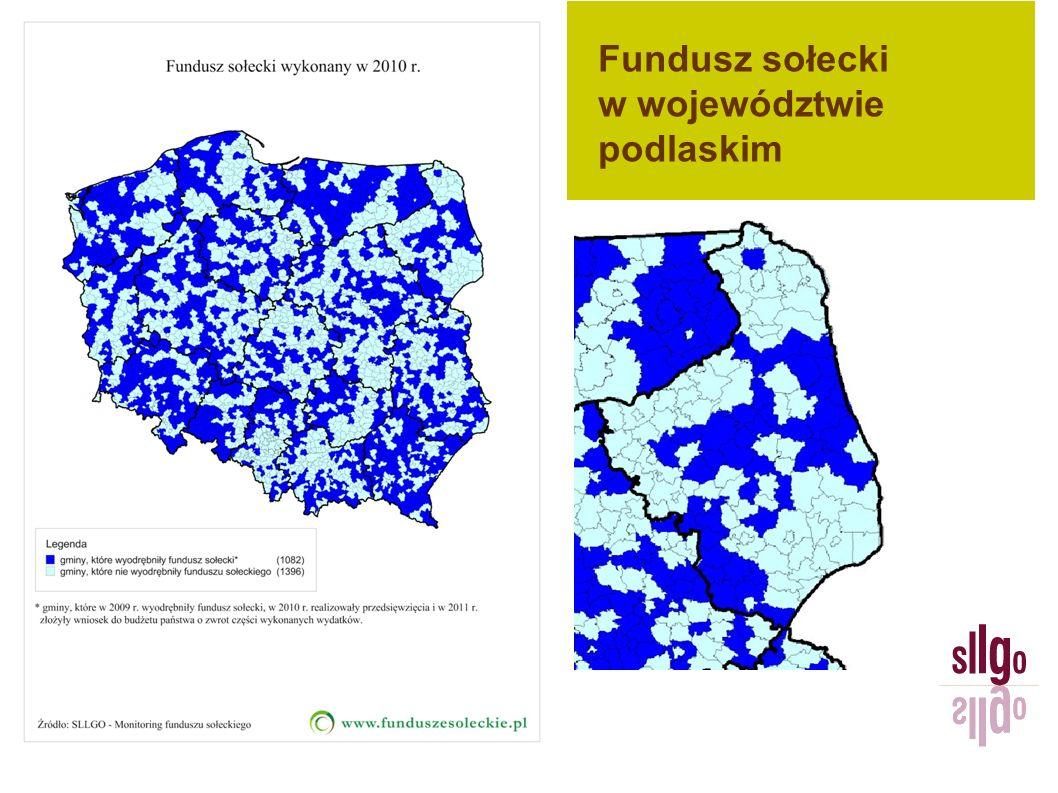 Fundusz sołecki w województwie podlaskim