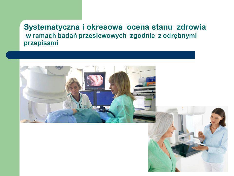 - koordynacja, kwalifikacja do szczepień - informowanie o szczepieniach zalecanych