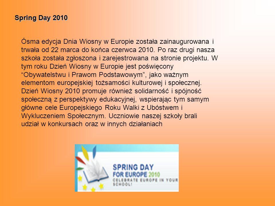 Szkoła bez przemocy W roku szkolnym 2010/2011 szkoła uczestniczyła w ogólnopolskim projekcie Szkoła bez przemocy.