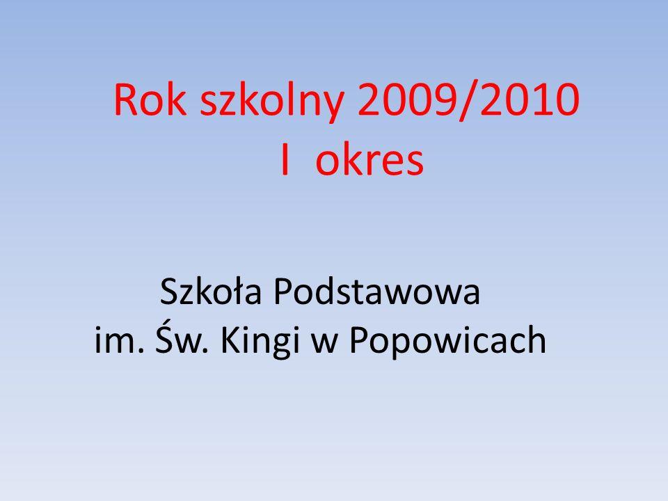 Klasa V Kinga Groń Kinga Orłowska Mirosław Drożdż Marcin Sejud Szymon Stępień Średnia frekwencja klasy wynosi 94% Uczniowie wyróżnieni za 100% frekwencję to: