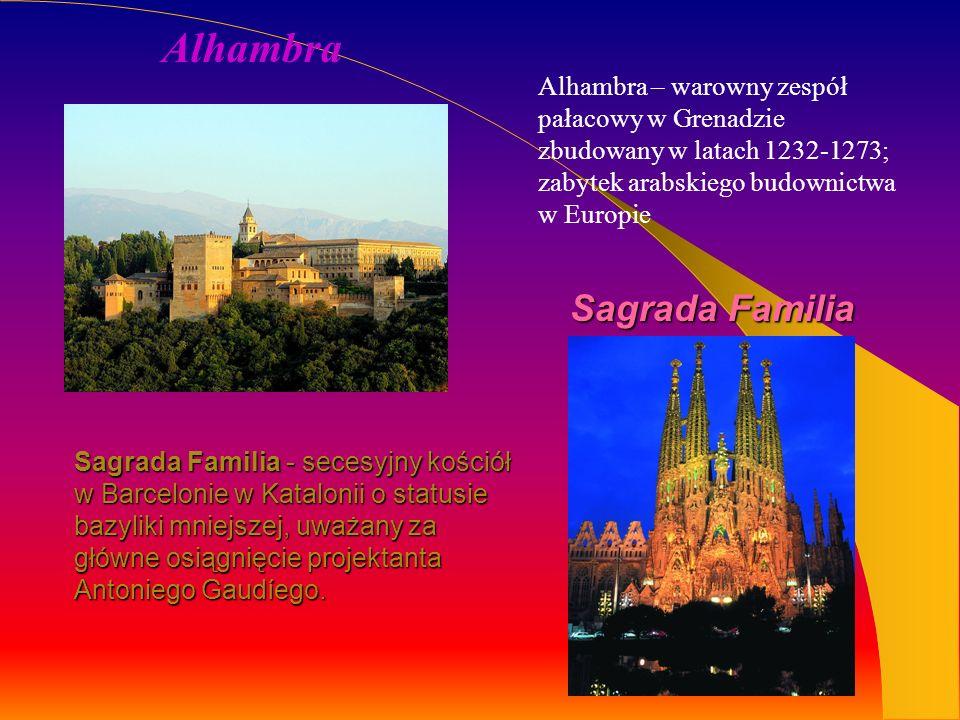 Park Güell - duży ogród z elementami architektonicznymi w Barcelonie.