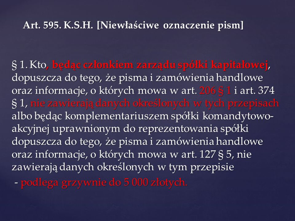 Art.299. K.S.H. § 1.