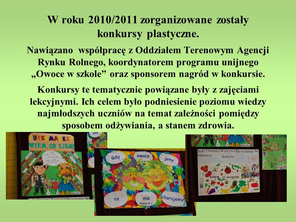 Uroczyste wręczenie nagród odbyło się na szkolnej imprezie pt.