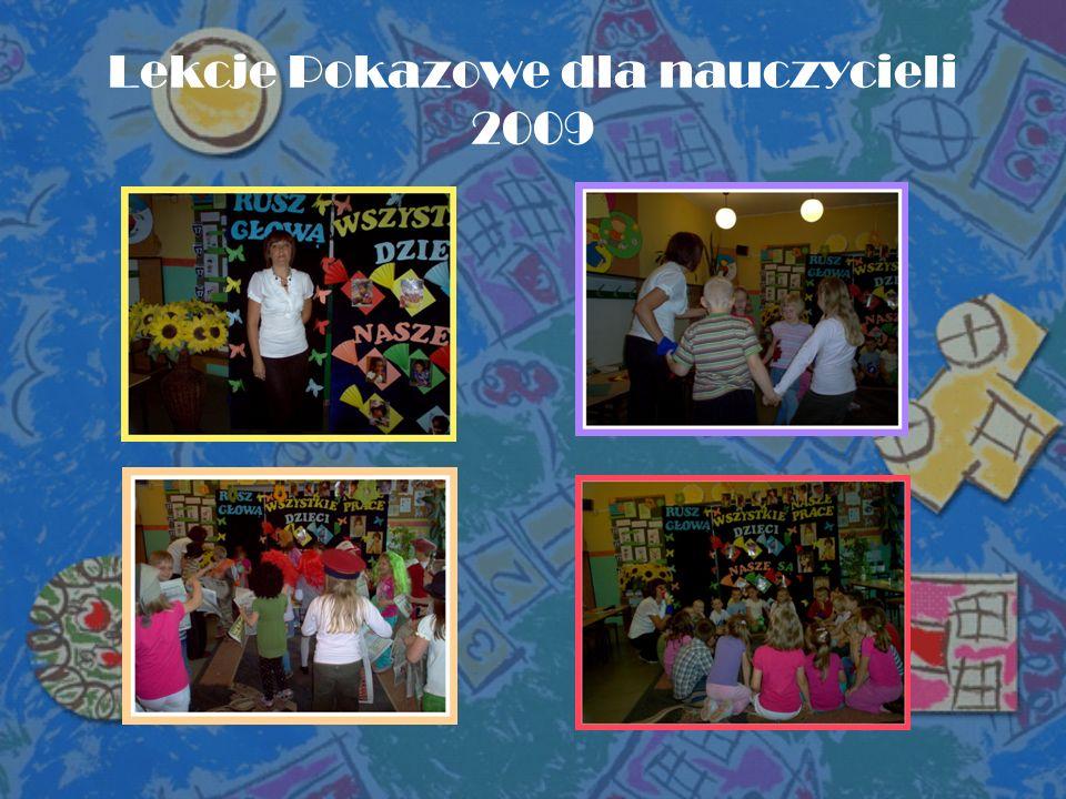 Lekcje Pokazowe dla nauczycieli 2009