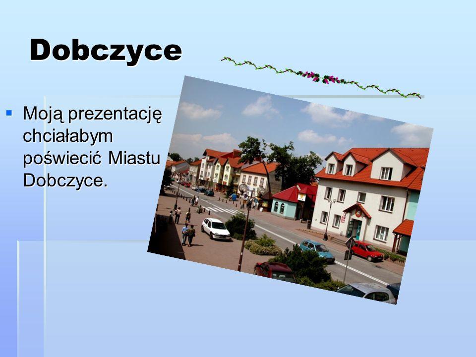 Dobczyce Miasto Dobczyce zaliczane jest do najstarszych osad położonych nad rzeką Rabą.