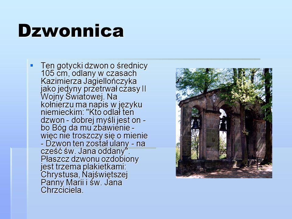 Mury miejskie Zachowane fragmenty około 60 m murów obronnych miasta z XIV wieku wraz z bramą wjazdową.