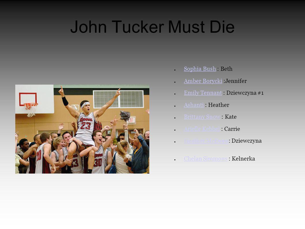 O realizacji John Tucker Must Die Z jednej strony wzbogacaliśmy wystrój szkolnych wnętrz, z drugiej wykorzystaliśmy nazwę szkolnej drużyny i jej logo - kontynuuje Hinds.