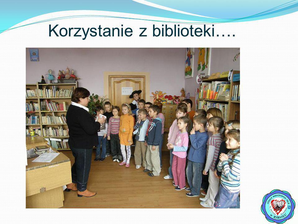 Korzystanie z biblioteki….