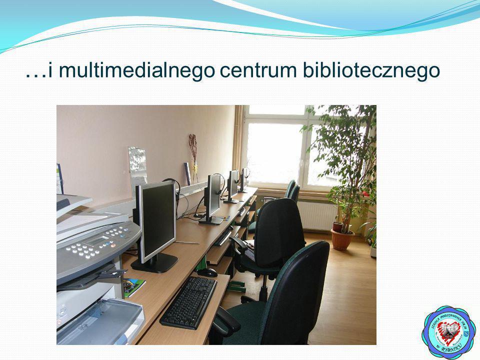 … i multimedialnego centrum bibliotecznego