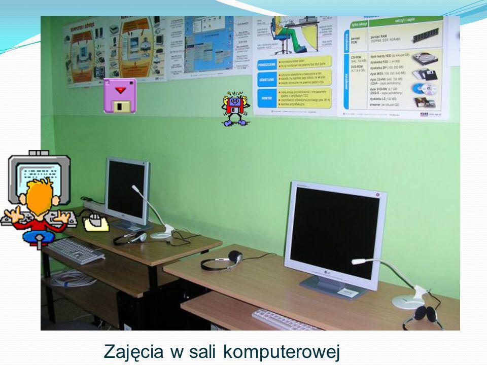 Zajęcia w sali komputerowej