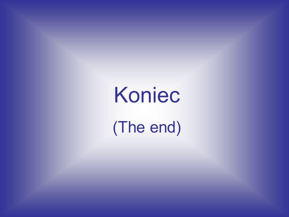 Koniec (The end)