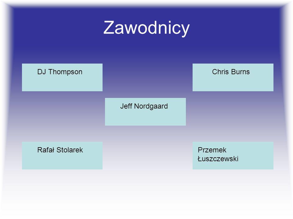 Zawodnicy DJ Thompson Jeff Nordgaard Chris Burns Przemek Łuszczewski Rafał Stolarek