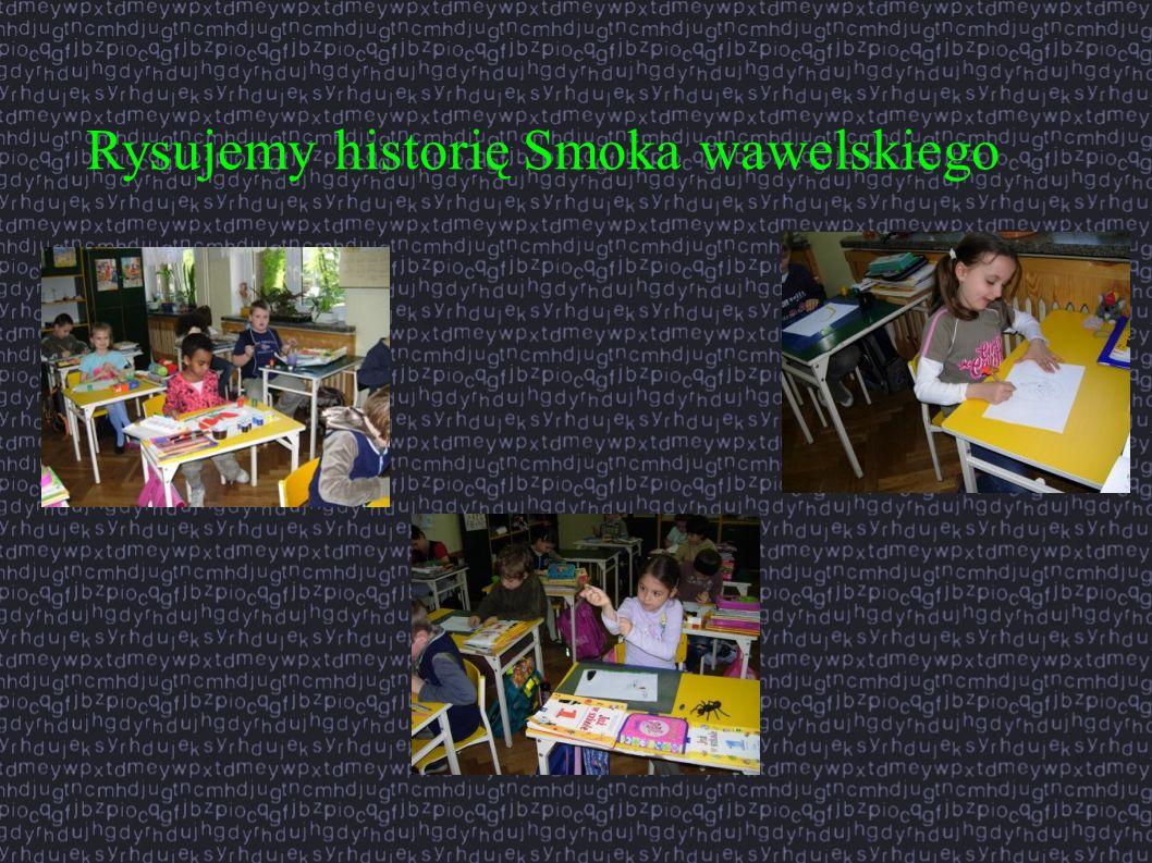 Rysujemy historię Smoka wawelskiego