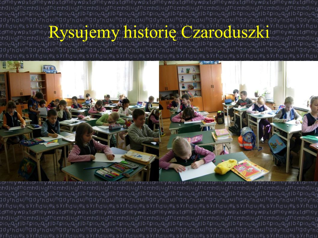 Rysujemy historię Czaroduszki
