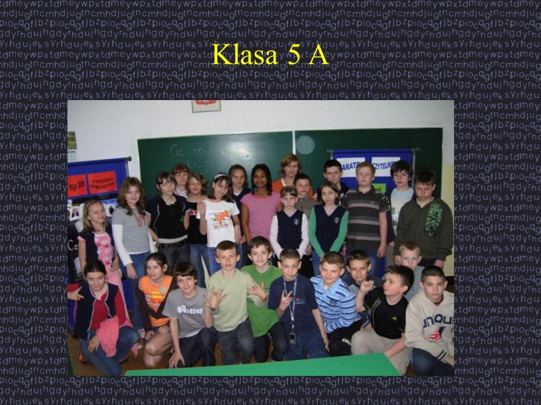 Klasa 5 A