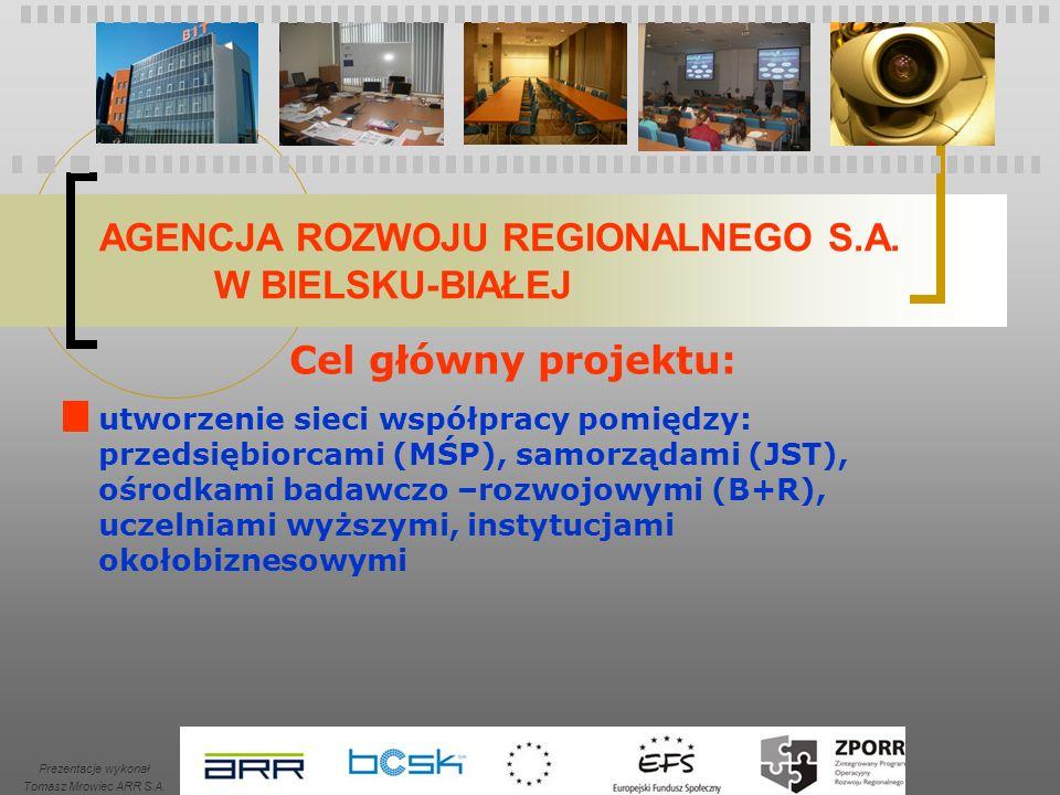 AGENCJA ROZWOJU REGIONALNEGO S.A.