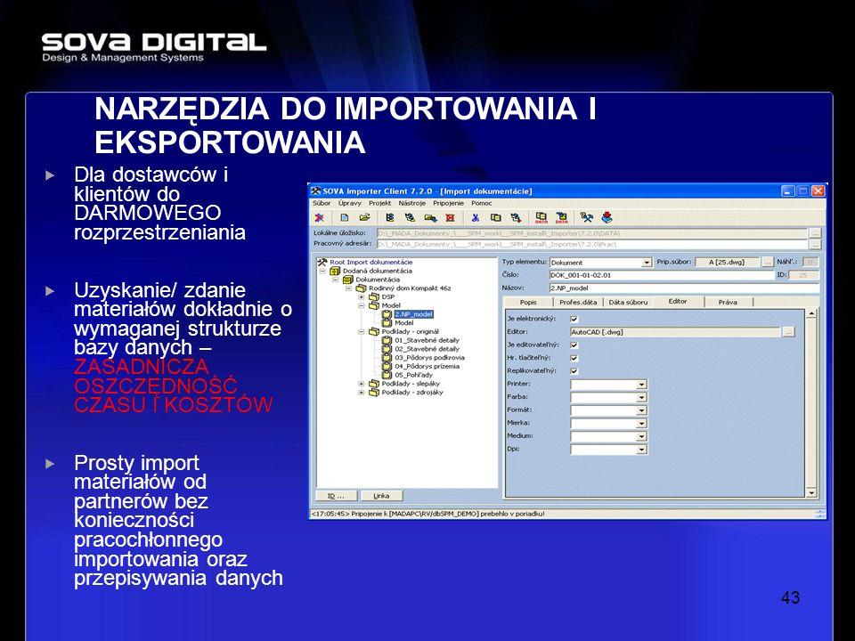 Dla dostawców i klientów do DARMOWEGO rozprzestrzeniania Uzyskanie/ zdanie materiałów dokładnie o wymaganej strukturze bazy danych – ZASADNICZA OSZCZĘ