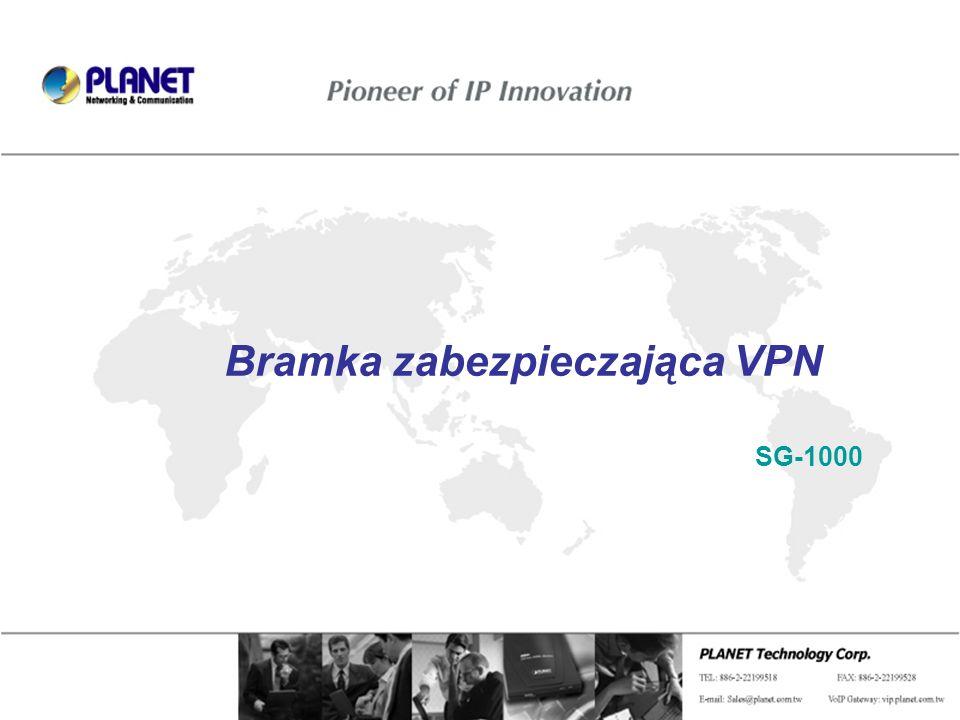 Bramka zabezpieczająca VPN SG-1000