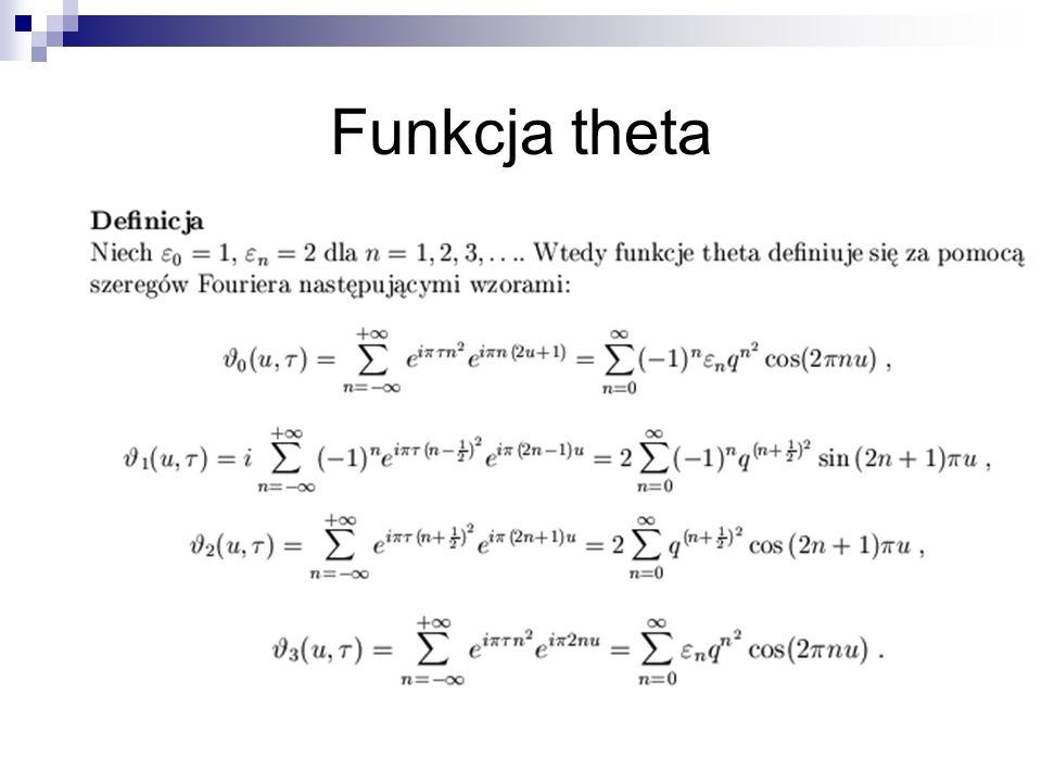 Funkcja theta