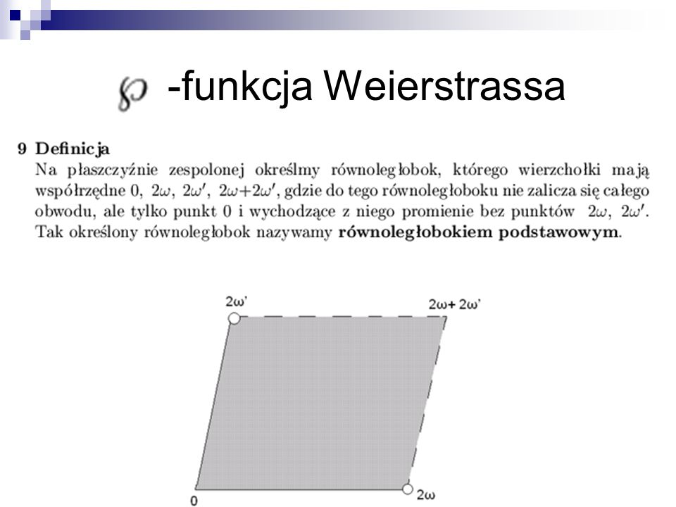 -funkcja Weierstrassa