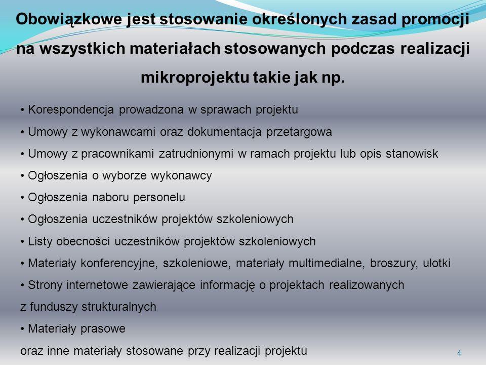 5 Projekt pisma – wydruk kolorowy Projekt współfinansowany przez Unię Europejską z Europejskiego Funduszu Rozwoju Regionalnego w 85% w ramach Programu Współpracy Transgranicznej Rzeczpospolita Polska – Republika Słowacka 2007-2013 oraz z budżetu państwa w 10% za pośrednictwem Euroregionu Beskidy.