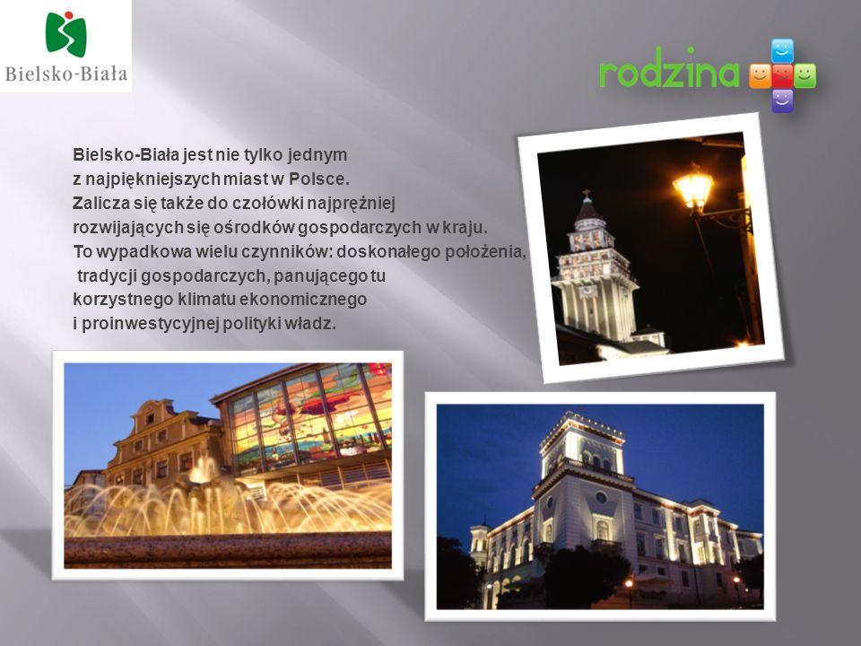 Bielsko-Biała jest nie tylko jednym z najpiękniejszych miast w Polsce.