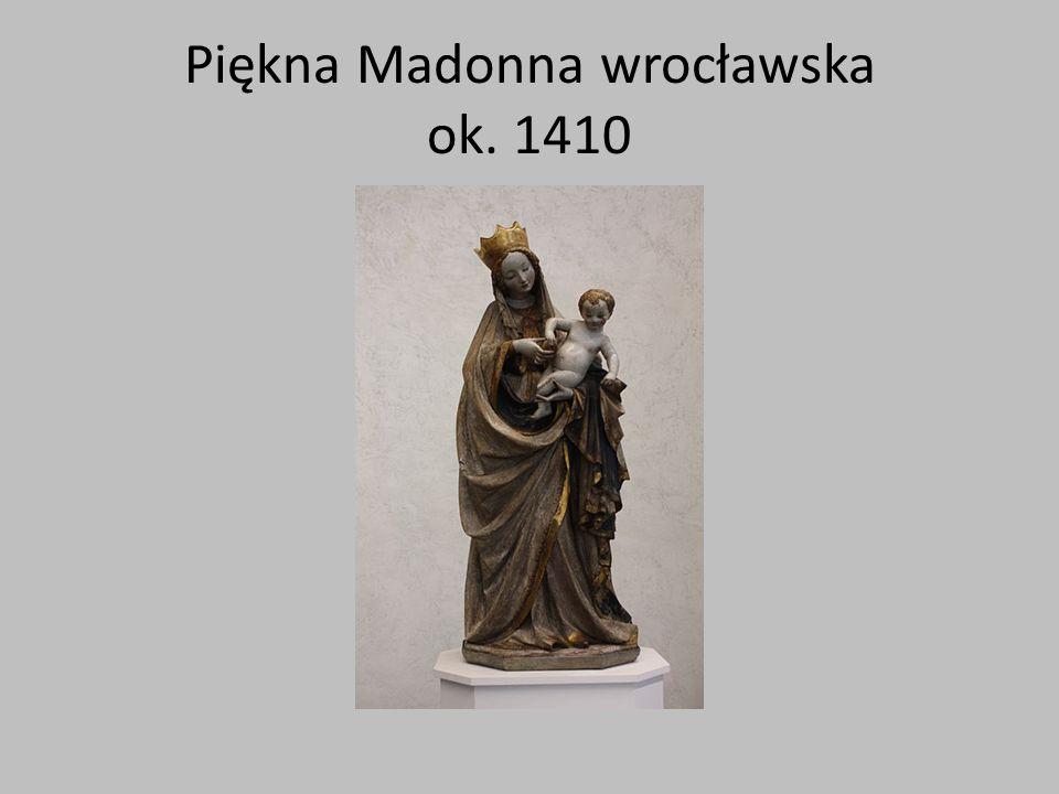 Piękna Madonna toruńska ok. 1390