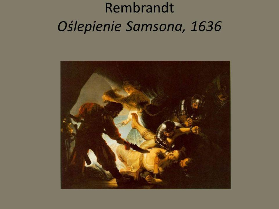 Rembrandt Straż nocna, 1642