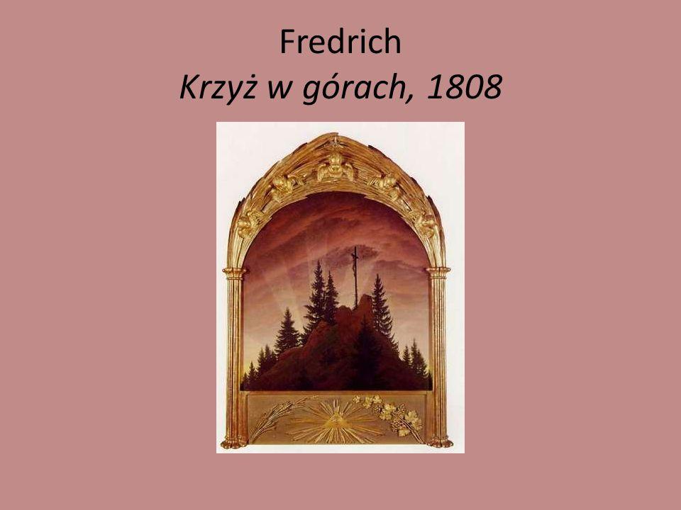 Fredrich- Kobieta w oknie, 1822