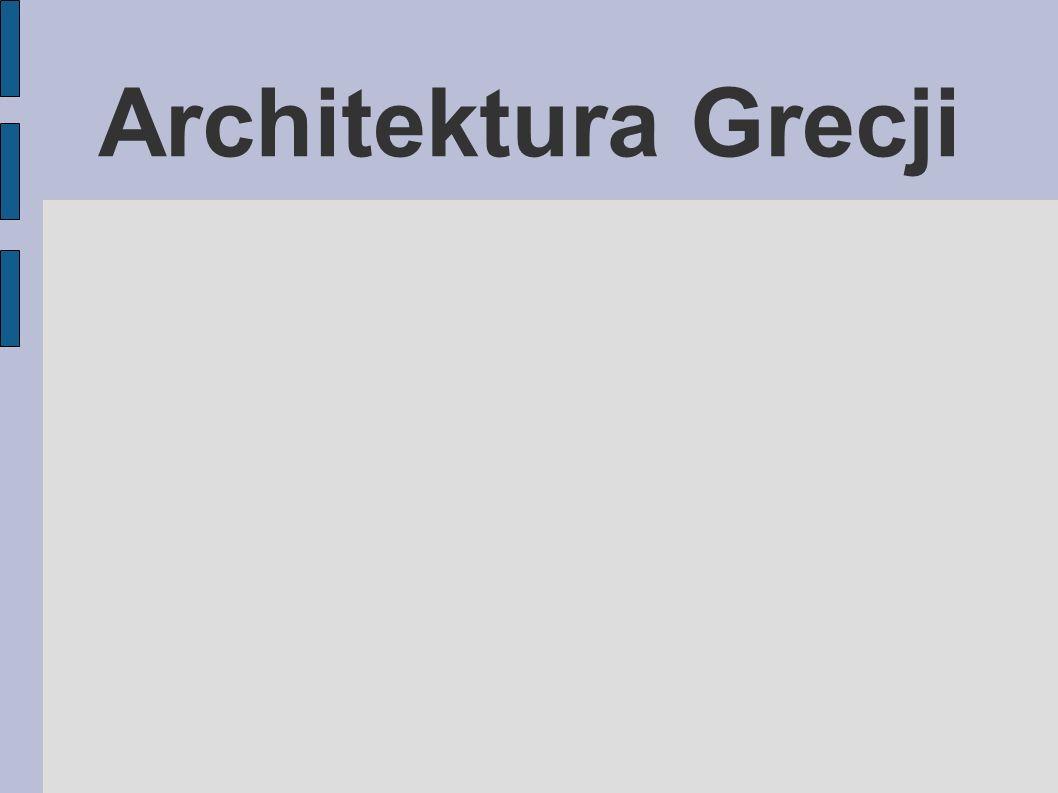 Architektura Grecji