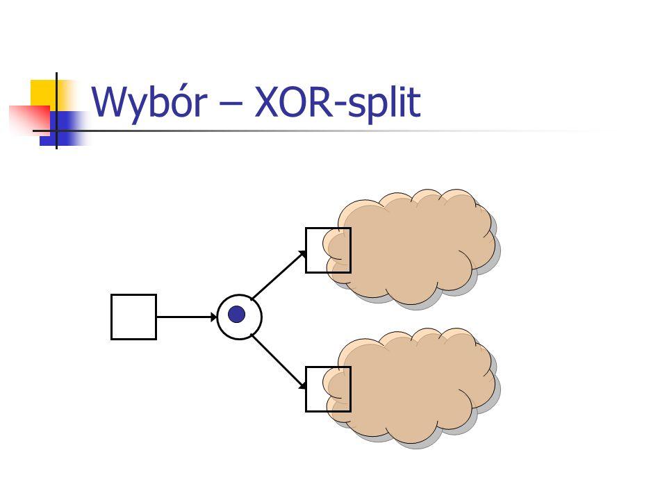 Wybór – XOR-split