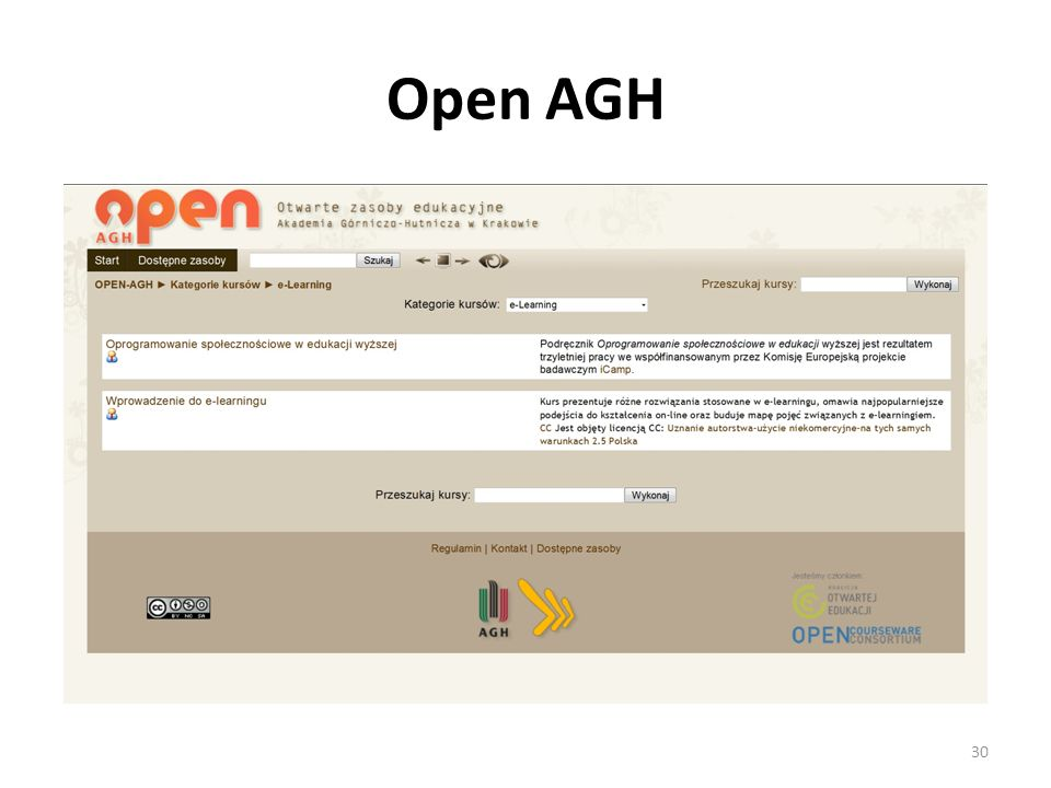 Open AGH 30