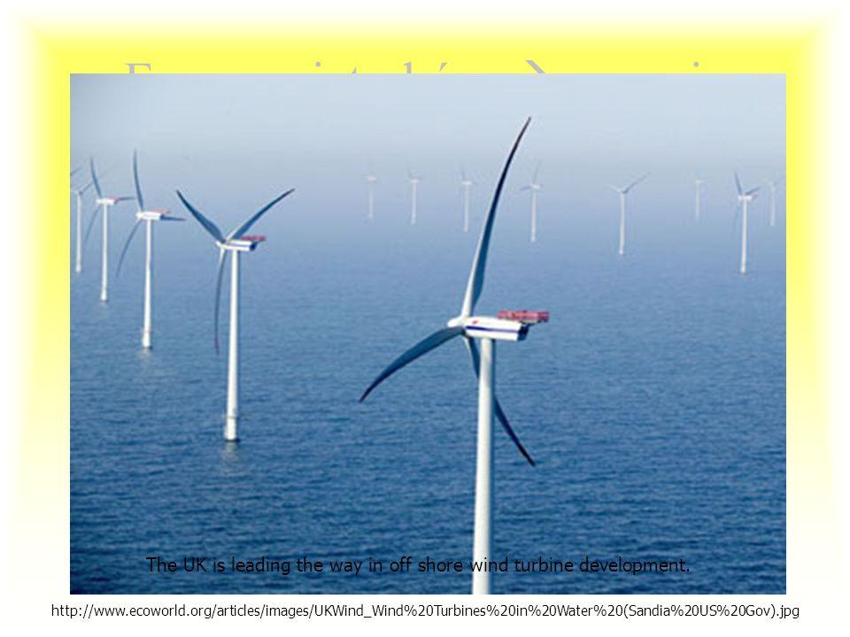 O przyszłości technologii wiatrowych BADANIA I ROZWÓJ –Szybkie turbiny wielopłaszczyznowe –Turbiny wolnoobrotowe –Zmniejszenie tarcia i wymogów konser